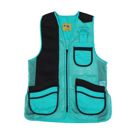 - Peregrine MizMac Womens Perfect Fit Mesh Vest Genuine Leather Pad, Turquoise, Left Hand, Small