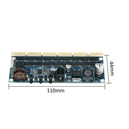 IN14 PCBA DIY Glow Tube Clock Suite Module Tube Digital Clock Kit Module - image 7 de 7