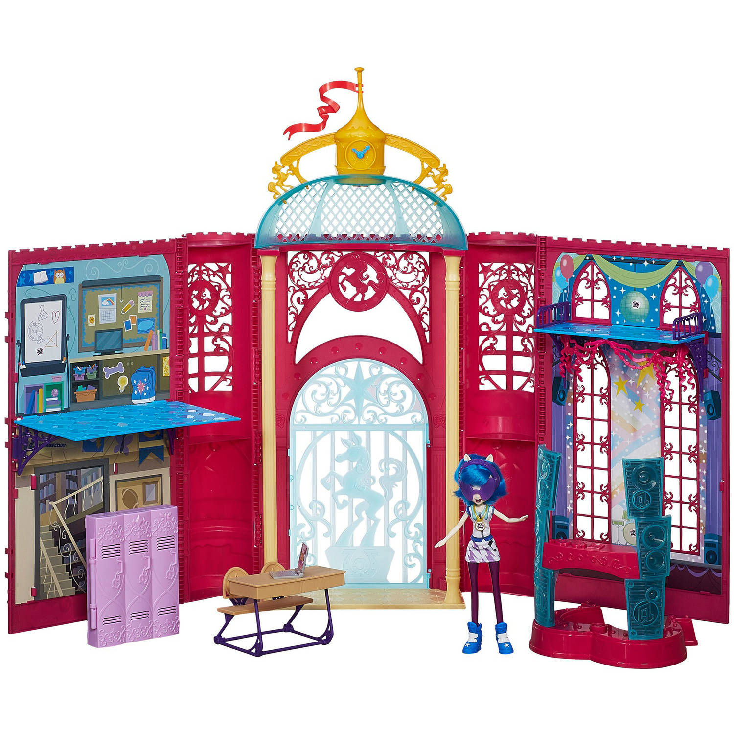 My Little Pony Equestria Girls Canterlot High Playset by