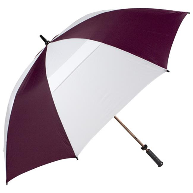 Haas-Jordan by Westcott 8811 68 inch Hurricane 345 Tour Plus Umbrella Wine-White