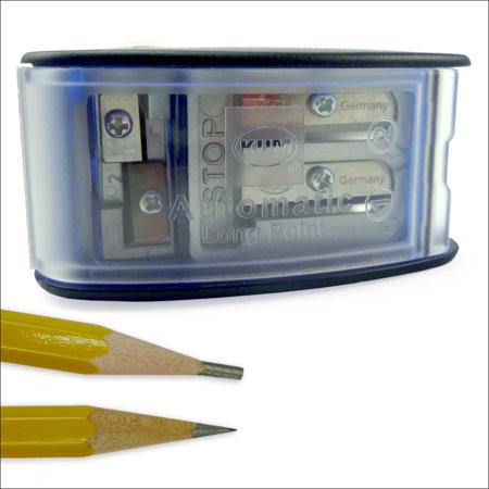 KUM Long Point Pencil Sharpener with Lead Pointer (Pencil Pointer)