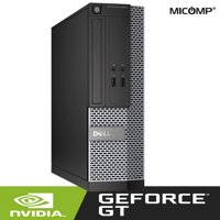 Dell 3020 Gaming Computer Nvidia GT1030 HDMI, 8GB RAM, 500GB HDD, DVD, WiFi, USB 3.0, Windows 10 Desktop (Refurbished)