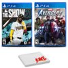 MLB The Show 21 and Marvels Avengers - Two Game Bundle For PlayStation 4