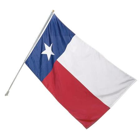 Valley Forge 3x5 Texas State Flag Kit TEX1-1 Home Flag Kit