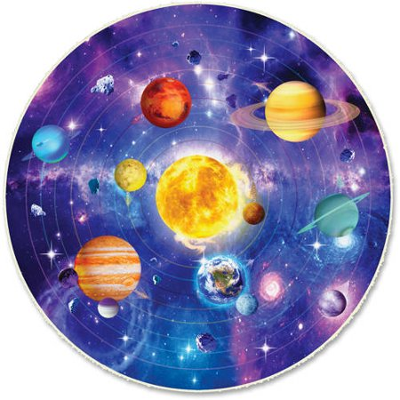 Image of A Broader View Floor Puzzle - Solar System