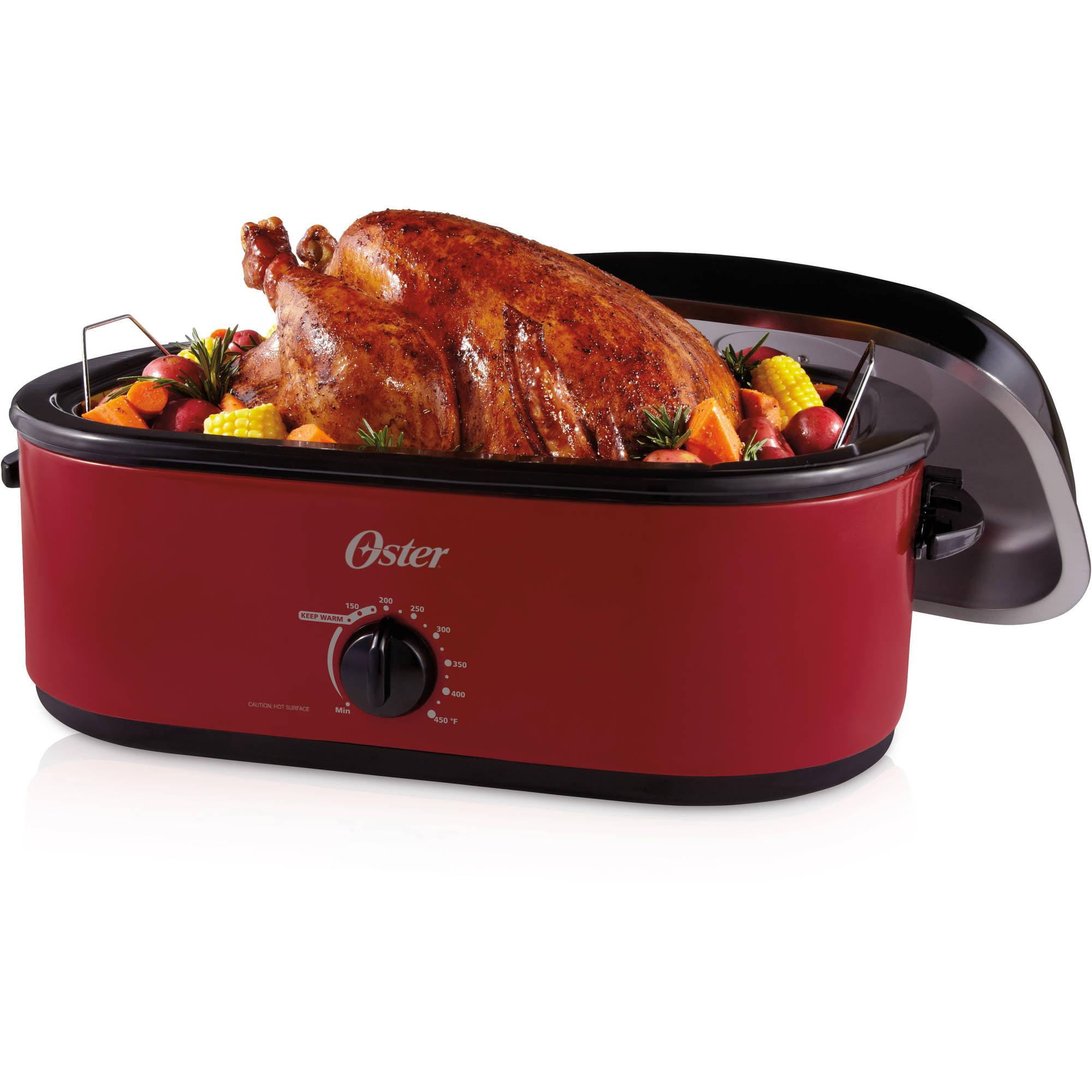 Oster 24-Pound Turkey Roaster Oven, 18-Quart