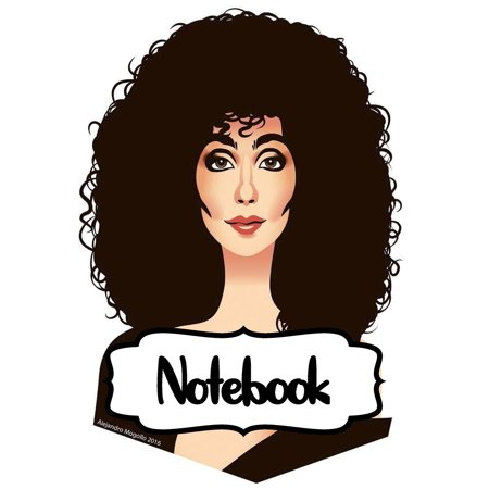 Who Sells Pop Rocks (Notebook: Cher American Singer Goddess of Pop The Folk Rock Husband-Wife Duo Sonny & Cher One Of The Best-Selling Music Artists, Large Notebook for Writting, Workbook for Teens & Children,)
