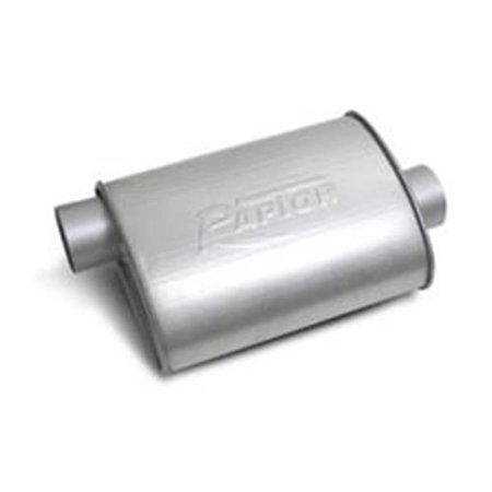 FLOW TECH 50054 Raptor Turbo Performance Muffler - Inlet & Outlet, 3 In.