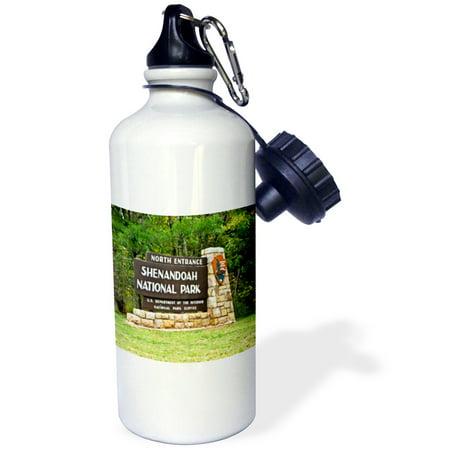 3dRose Shenandoah National Park, Sports Water Bottle, 21oz