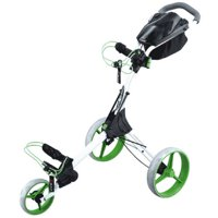 Big Max IQ+ Golf Push Cart (White & Lime)