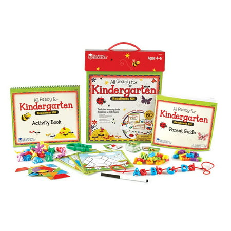 Learning Resources All Ready for Kindergarten Readiness Kit - Learning Games For Kindergarten