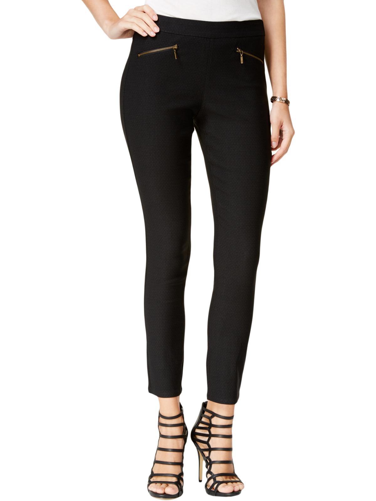 XOXO Womens Juniors Zip-Pocket Day-To-Night Pants