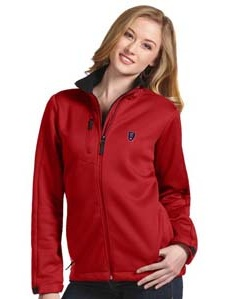 Real Salt Lake Womens Traverse Jacket (Color: Red) by