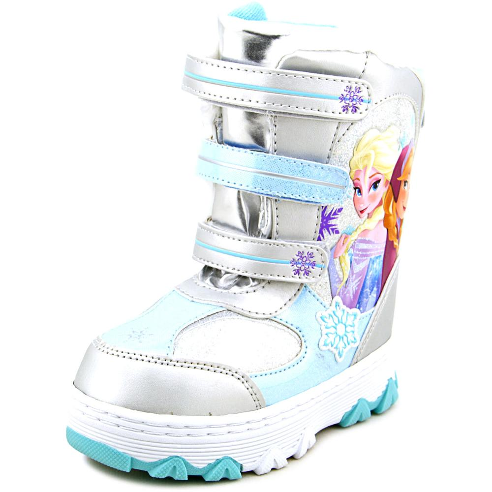 Disney Frozen Anna & Elsa Winter Boot Toddler Synthetic Silver Winter Boot
