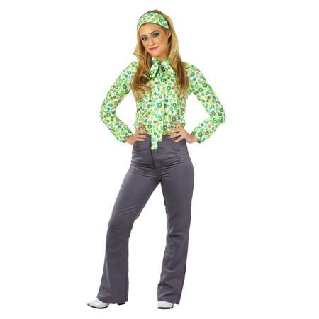 Womens Hippie Girl Costume - Hippie Muppet Girl