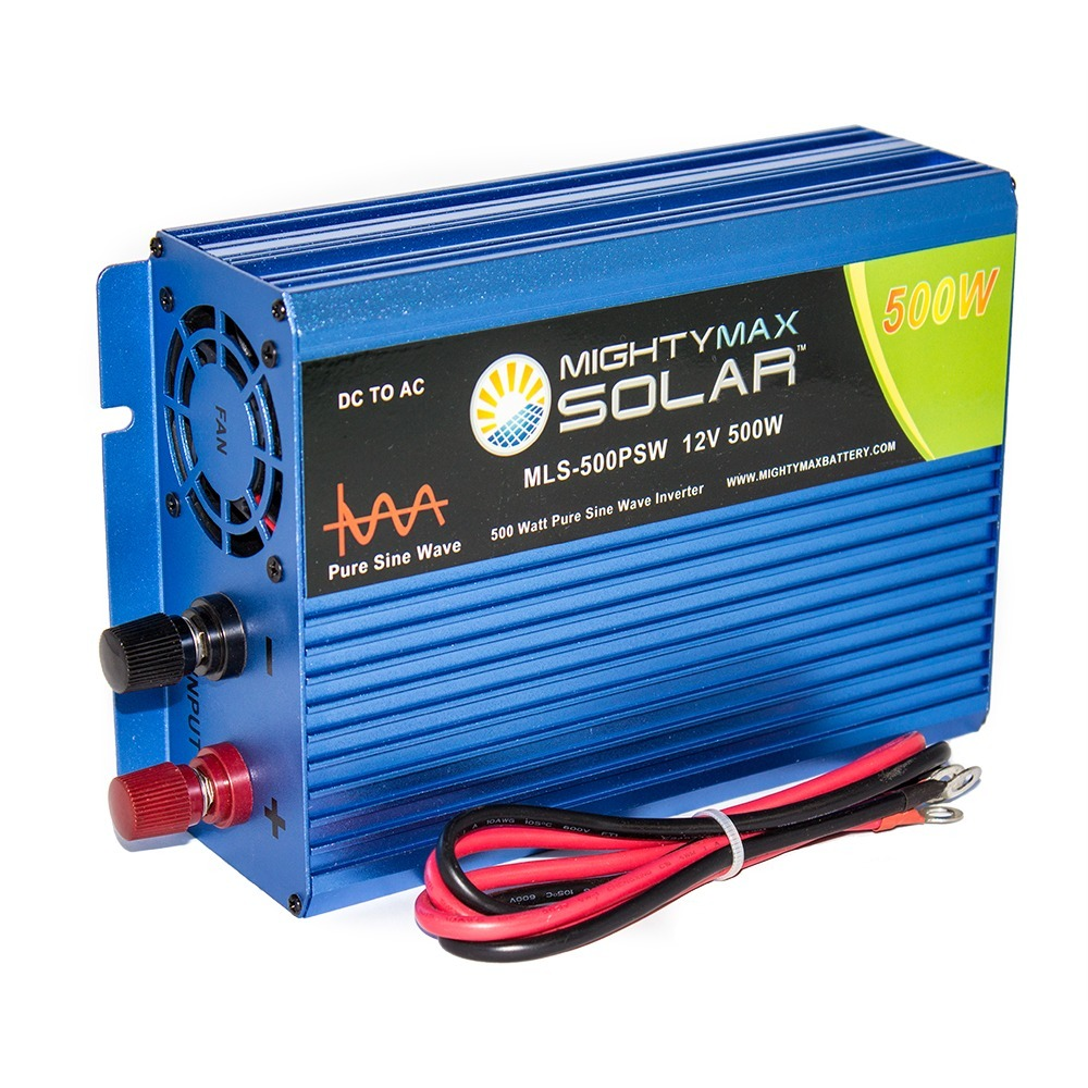 12V 500W Power Inverter Dual AC Outlets