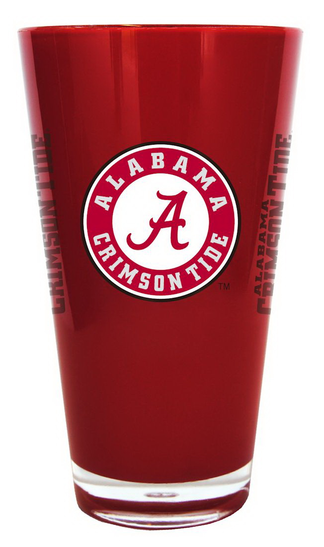 Alabama Crimson Tide 20 oz Insulated Plastic Pint Glass by Boelter Brands