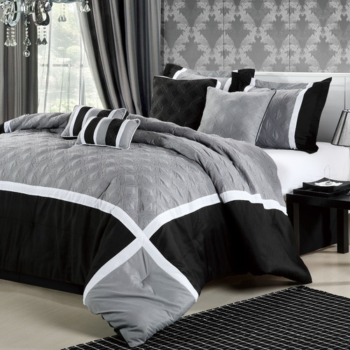 Chic Home Quincy 12 Piece Comforter Set