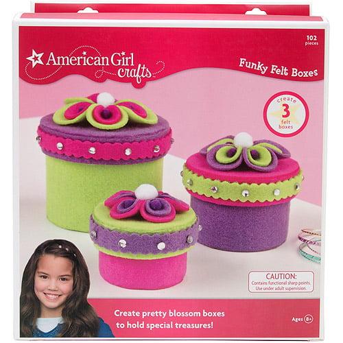 American Girl Funky Felt Box Kit