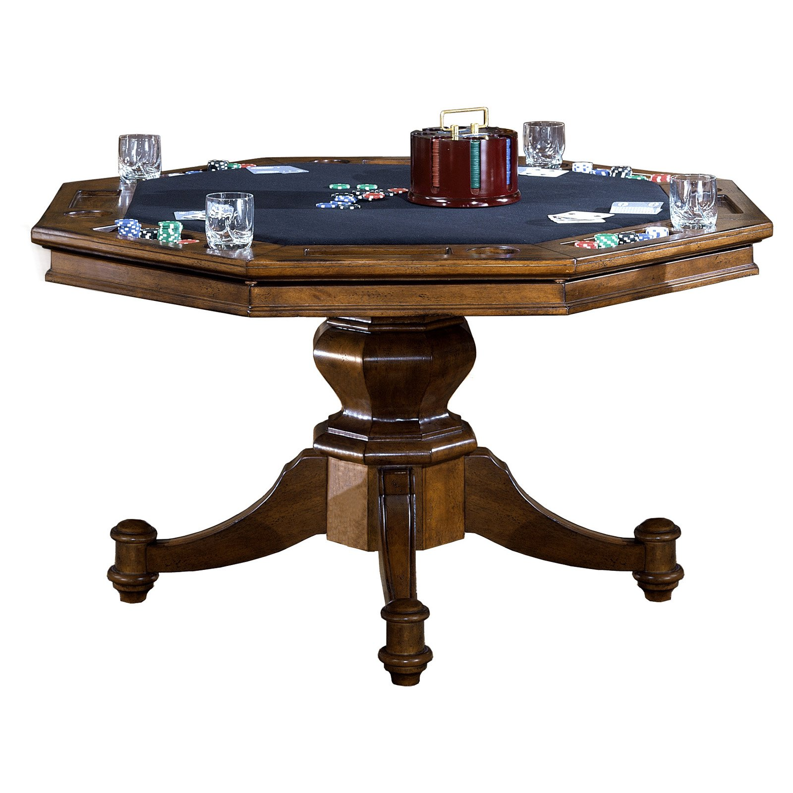 Hillsdale Nassau Poker Table by Hillsdale