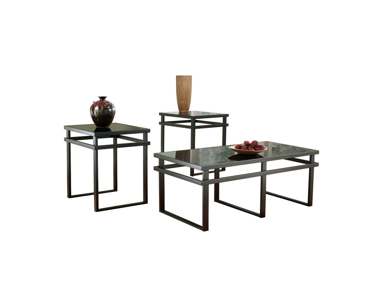 Ashley Laney Living Room Table Set, Living Room Tables