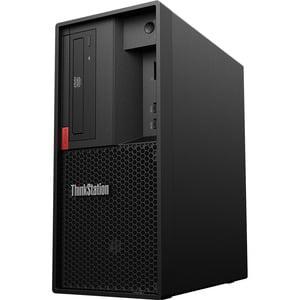 Lenovo ThinkStation P330 30C5001VUS Workstation - 1 x Intel Xeon E-2126G Hexa-core (6 Core) 3.30 GHz - 16 GB DDR4 SDRAM - 512 GB SSD - Windows 10 Pro - Tower - Raven