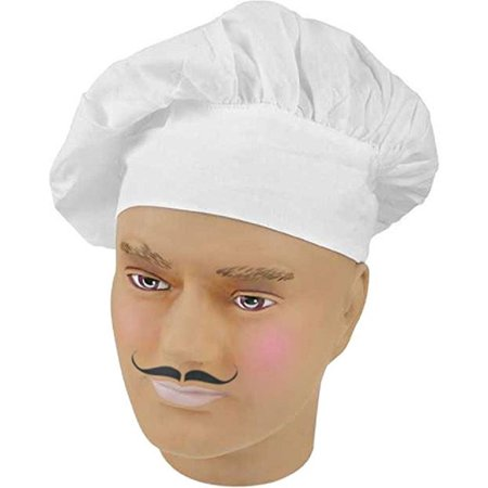 Chef S Hat Chef Costume Bakers Cap White Accessory Kitchen Cook Baker Gourmet