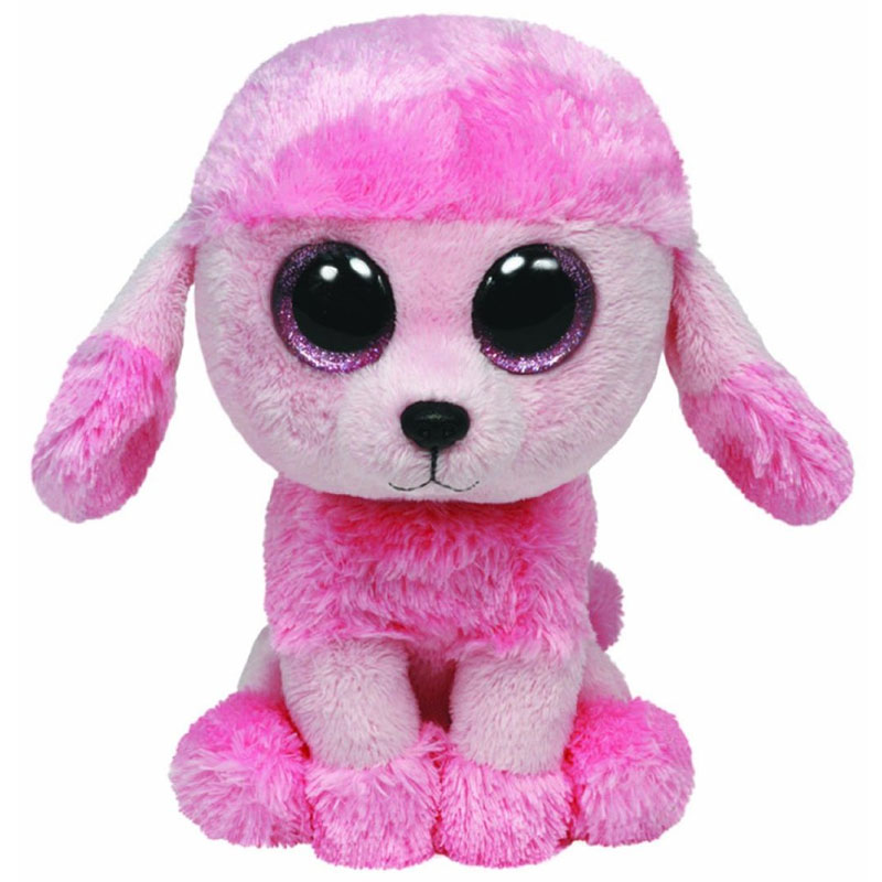 TY Beanie Boos - PRINCESS the Pink Poodle (Glitter Eyes) (Regular Size - 6 inch)