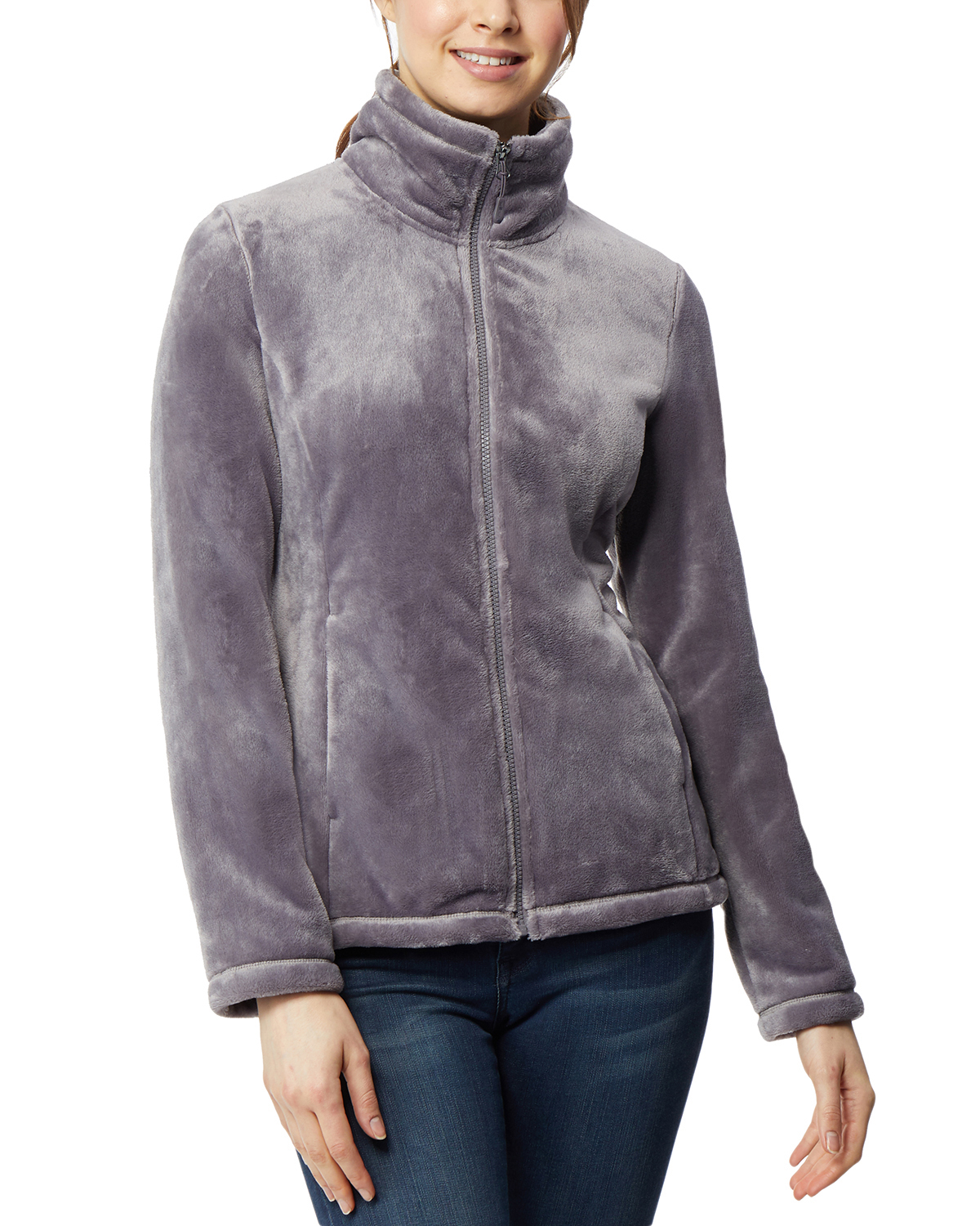 Deals on 360Air Womens Athleisure Luxe Plush Jacket