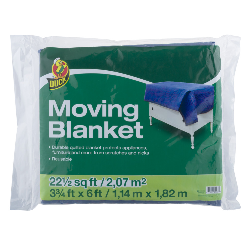 Duck Moving Blanket - 22.5 SQ FT, 22.5 SQ FT