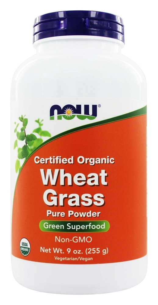 NOW Foods – Wheat Grass Powder Organic – 9 oz.
