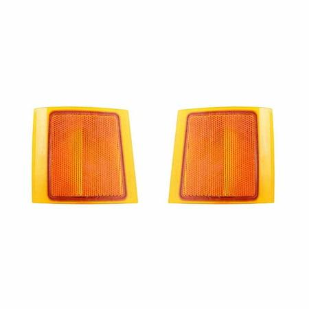 NEW PAIR OF SIDE MARKER LIGHT FITS CHEVROLET SUBURBAN 1500 TAHOE 5977460 5977459 Chevrolet Tahoe Side Marker