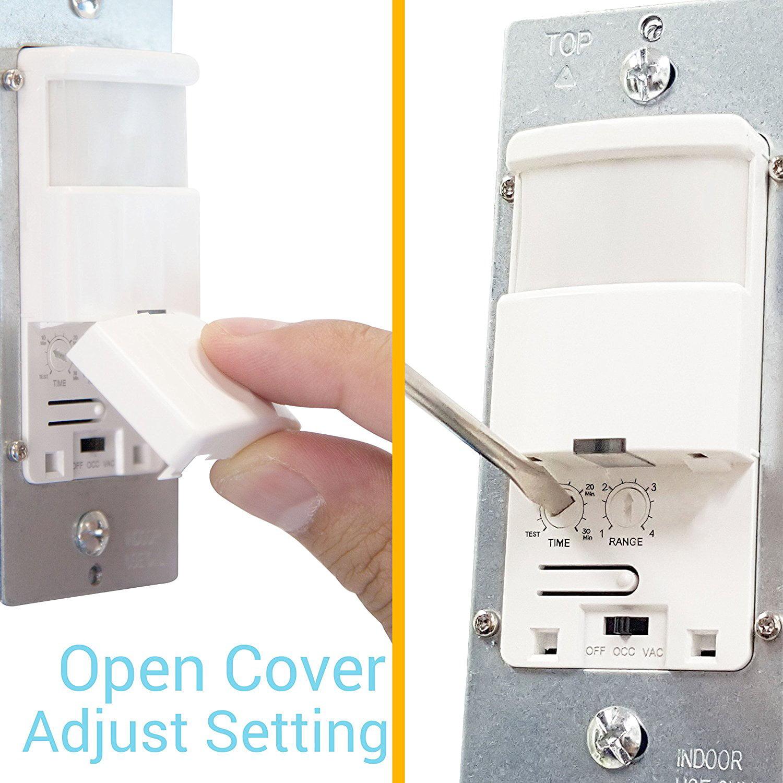 Topgreener Tdos5 W Motion Sensor Light Switch Pir Wiring A Occupancy