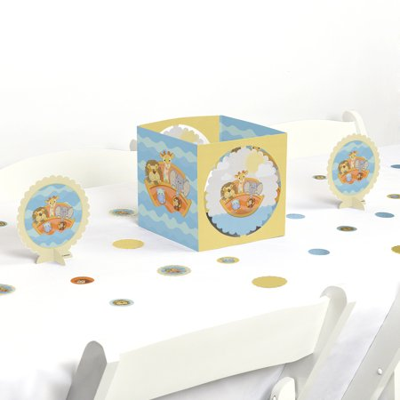 noah's ark - birthday party or baby shower centerpiece & table decoration