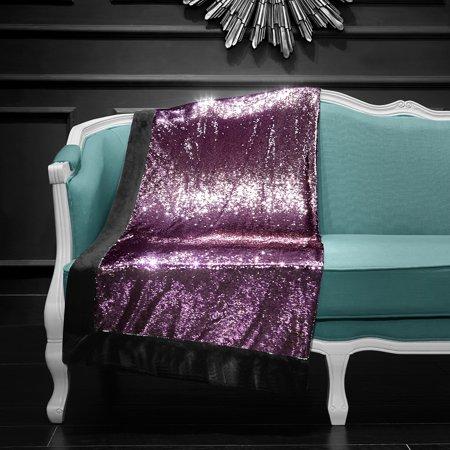 Mainstays Reversible Sequins Throw Blanket 40 x 40 Pink Walmart Custom Silver Sequin Throw Blanket