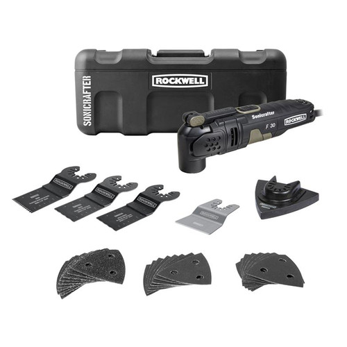 Rockwell 3.5A 4-Degree Sonicrafter F30 32-Piece Kit