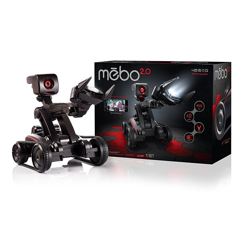 Sky Viper MEBO 2.0 Interactive Robot Black by Skyrocket Toys