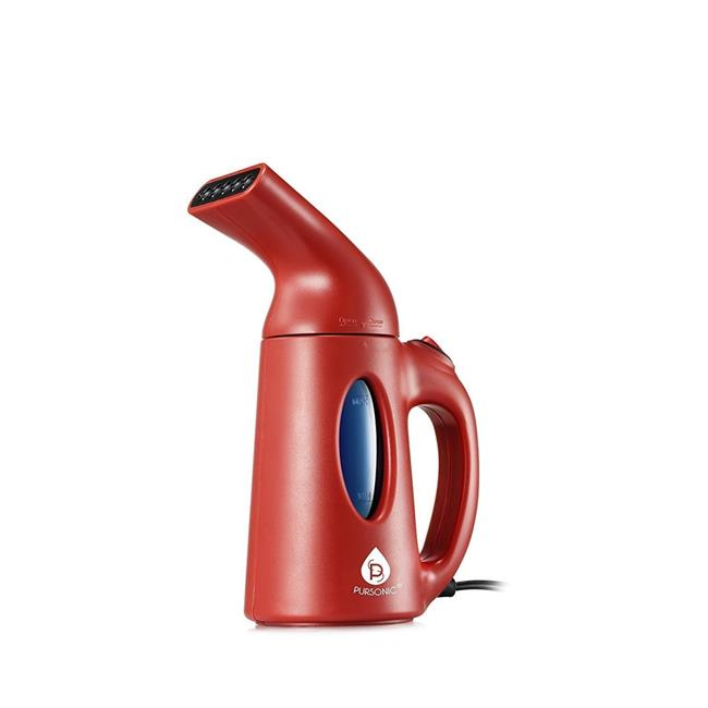 Portable Garment Steamer - Red