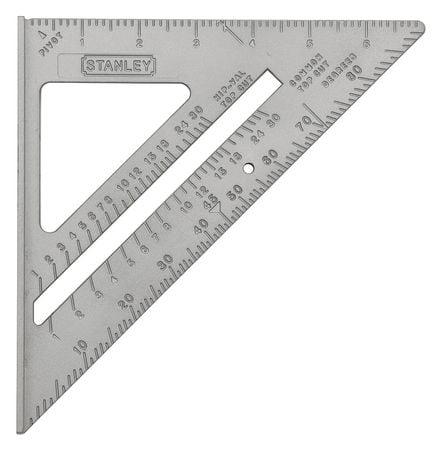 """Stanley 7"""",Quick Square, Aluminum, 46-067"""