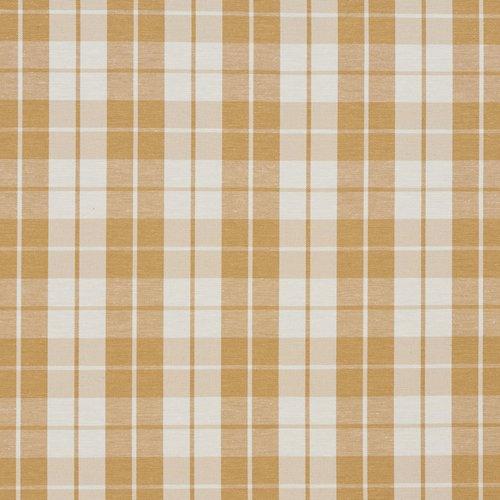 Wildon Home Plaid Cotton Fabric
