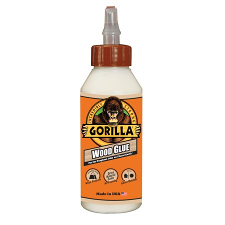 Gorilla Wood Glue, 8 oz. (Best Ca Glue For Wood Turning)