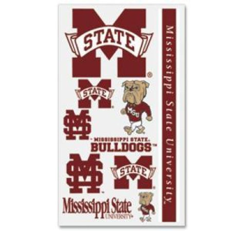 Mississippi State Bulldogs Temporary Tattoos ()