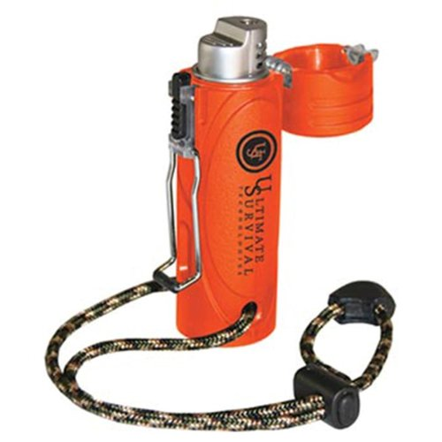 Ultimate Survival Technologies Trekker Stormproof Lighter, Blaze Orange