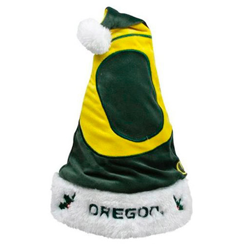 NCAA 2011 Colorblock Santa Hat, Oregon Ducks