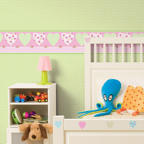 WallPops! Fun4Walls Pretty Flowers Wall Mural