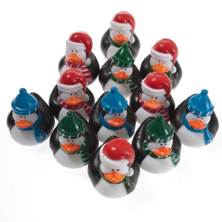 Holiday Penguin Rubber Ducks (Holiday Duck)