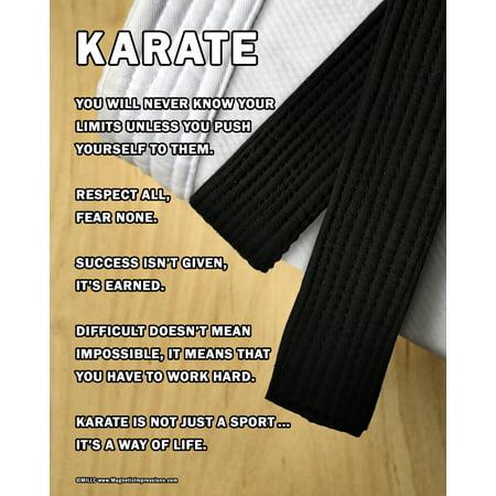 - Unframed Karate 8