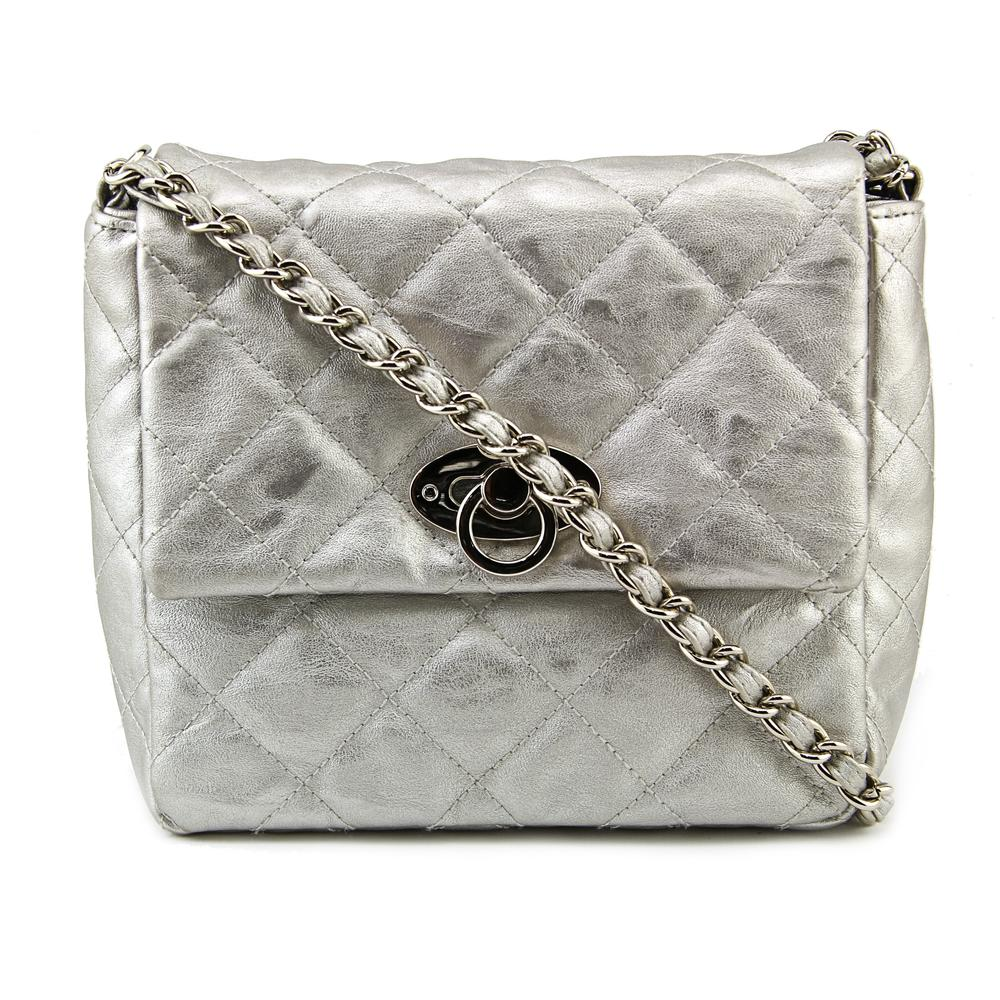 Style & Co Day Into Eve Women   Polyester Silver Messenger NWT