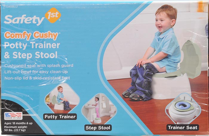 Safety 1st Comfy Cushy 3-in-1 Potty Image 4 of 4  sc 1 st  Walmart & Safety 1st Comfy Cushy 3-in-1 Potty - Walmart.com islam-shia.org