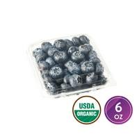 Fresh Organic Blueberries, 6 oz